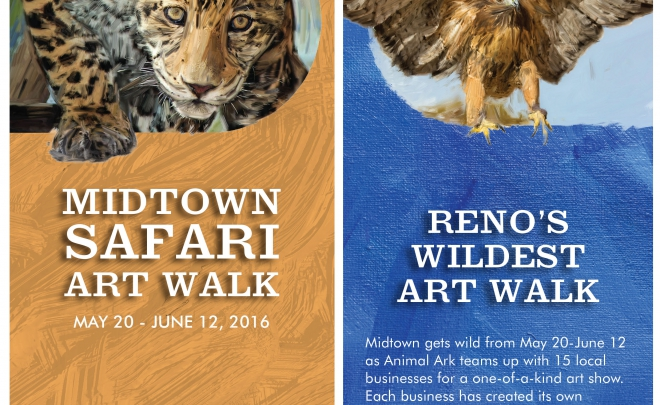 Reno Midtown Safari Art Walk