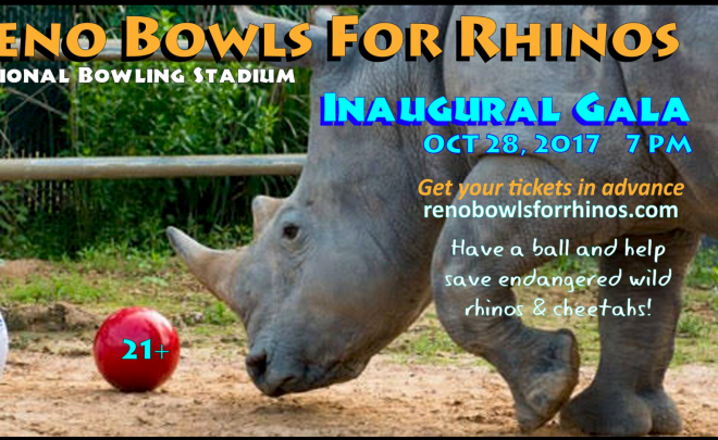 Animal Ark Supports RENO BOWLS FOR RHINOS